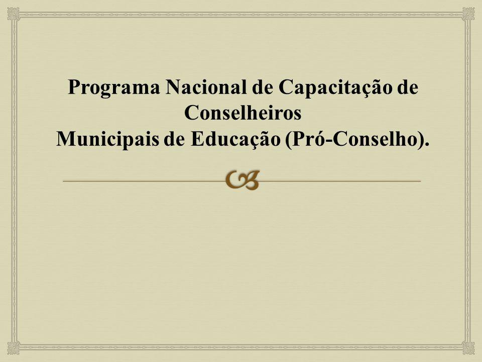 Programa Nacional de Capacitação de Conselheiros