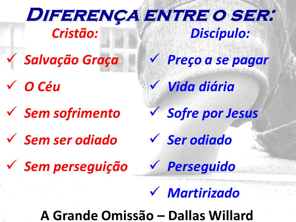 A Grande Omissão – Dallas Willard