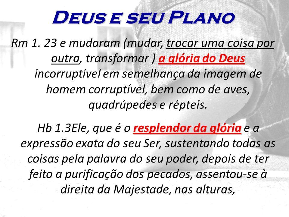 Deus e seu Plano