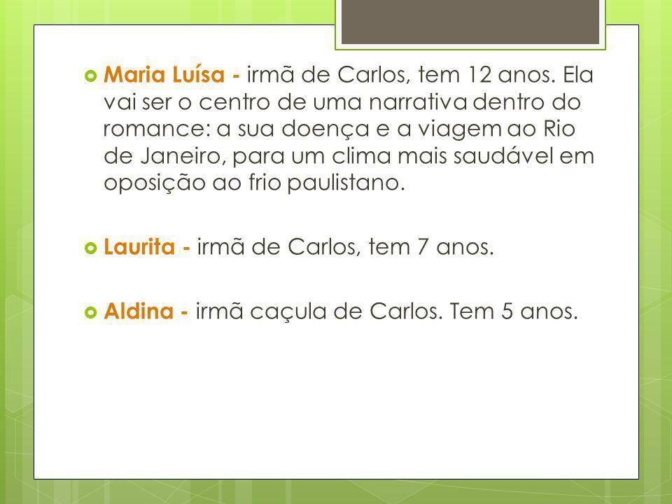 Maria Luísa - irmã de Carlos, tem 12 anos