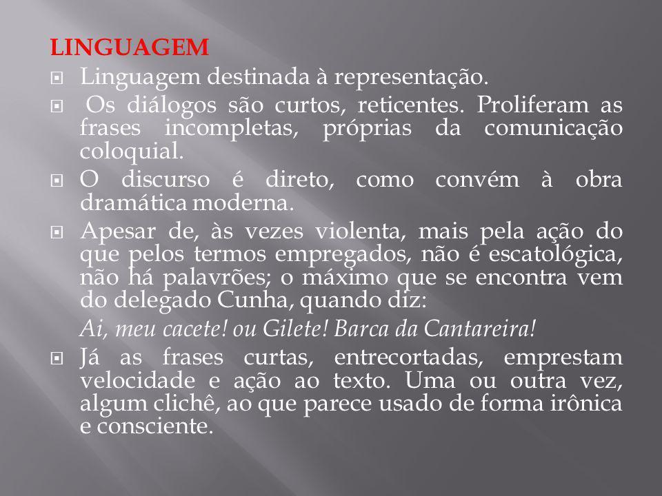 LINGUAGEM Linguagem destinada à representação.