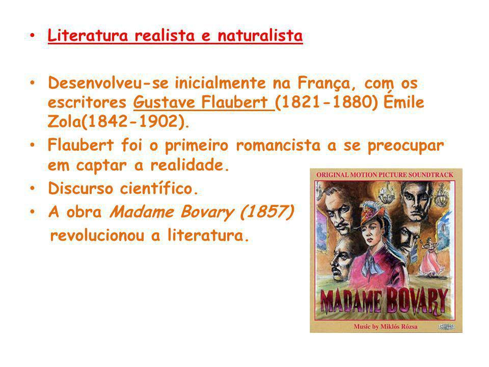 Literatura realista e naturalista