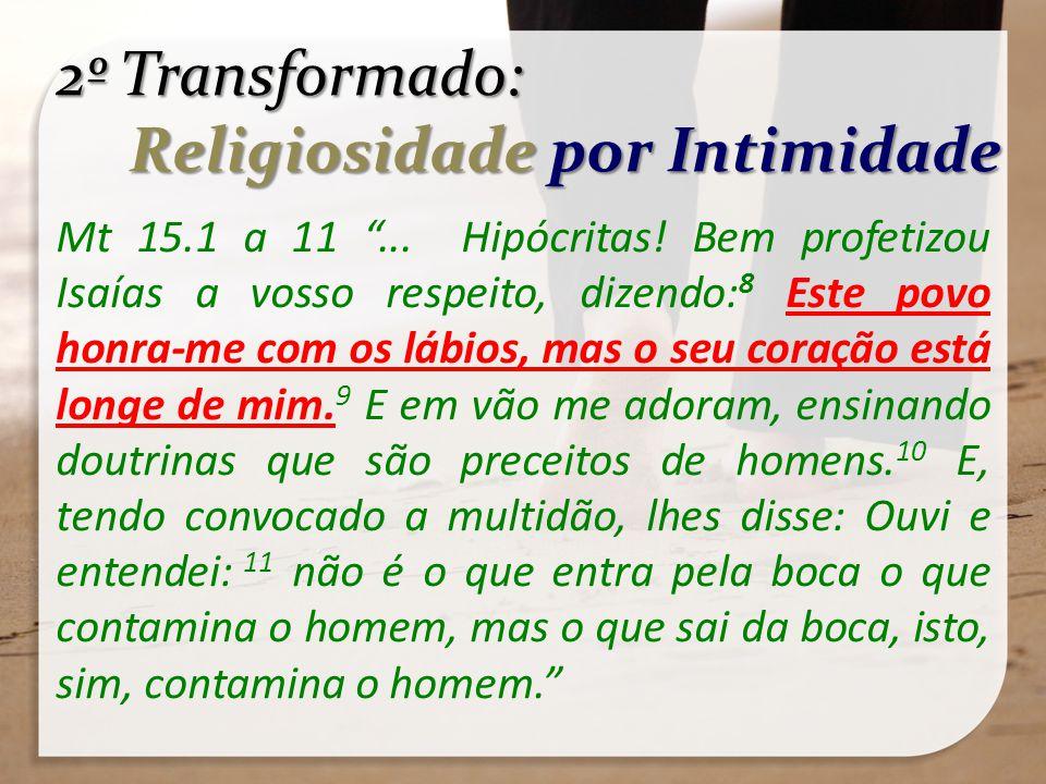 Religiosidade por Intimidade