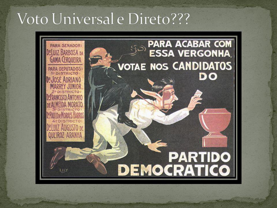 Voto Universal e Direto