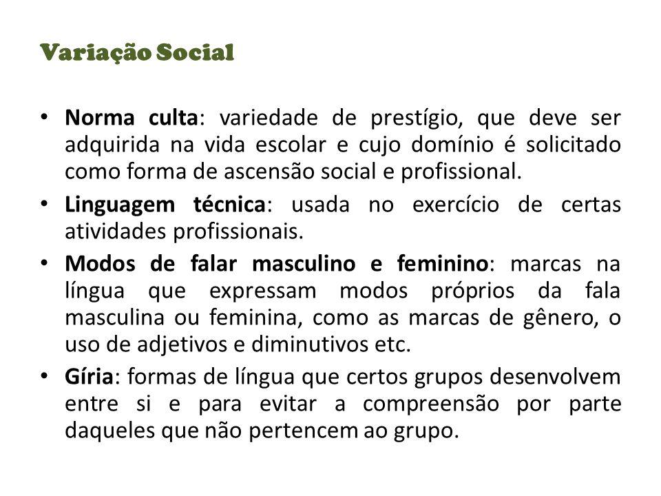 Variação Social