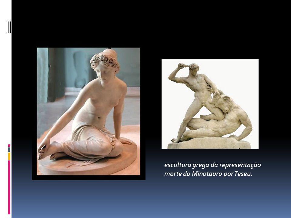 escultura grega da representação