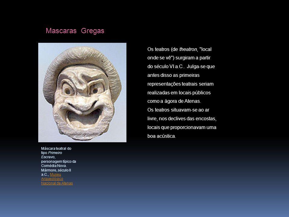 Mascaras Gregas