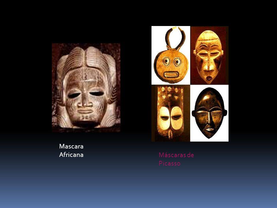 Mascara Africana Máscaras de Picasso