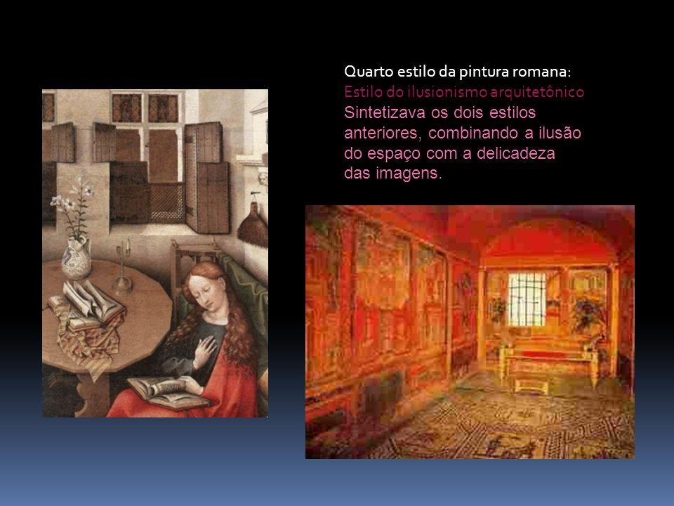 Quarto estilo da pintura romana: Estilo do ilusionismo arquitetônico