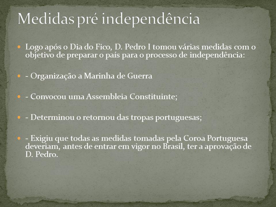 Medidas pré independência