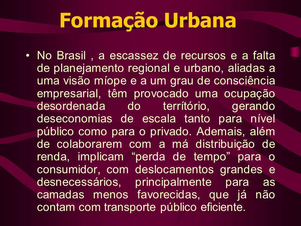 Formação Urbana