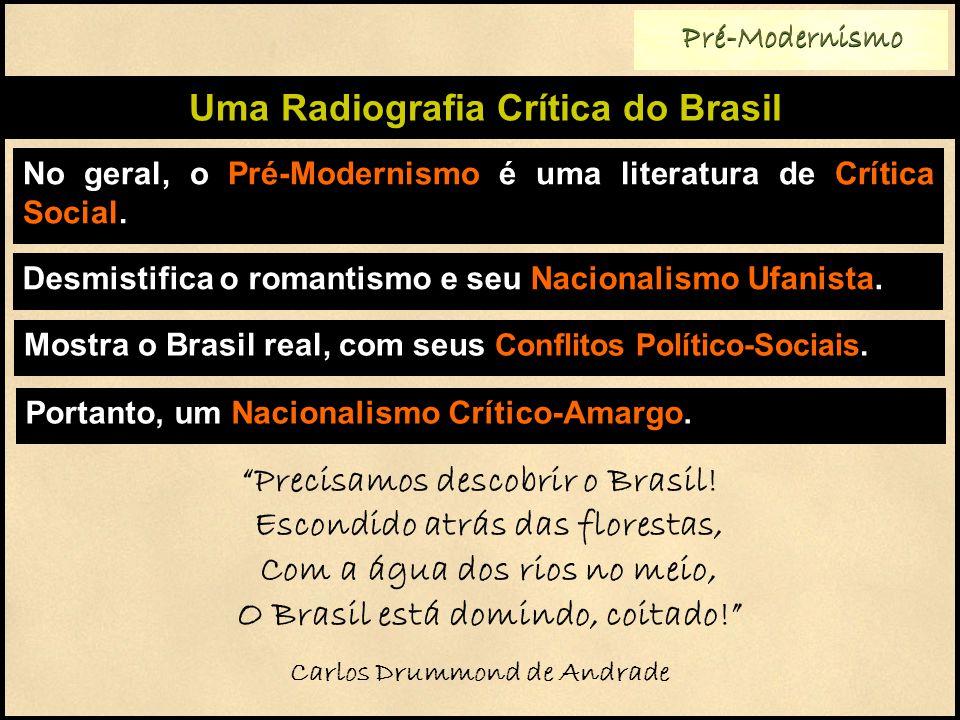 Uma Radiografia Crítica do Brasil Carlos Drummond de Andrade
