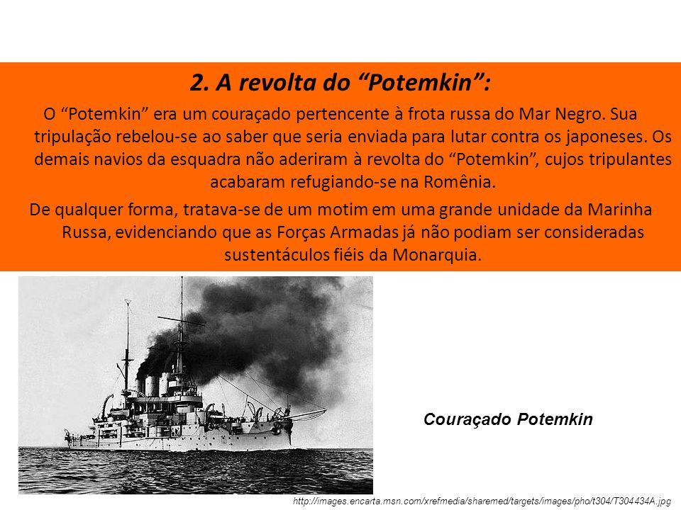 2. A revolta do Potemkin :