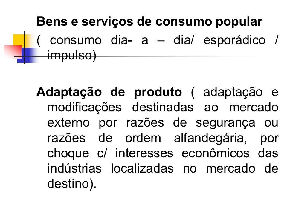 Bens e serviços de consumo popular