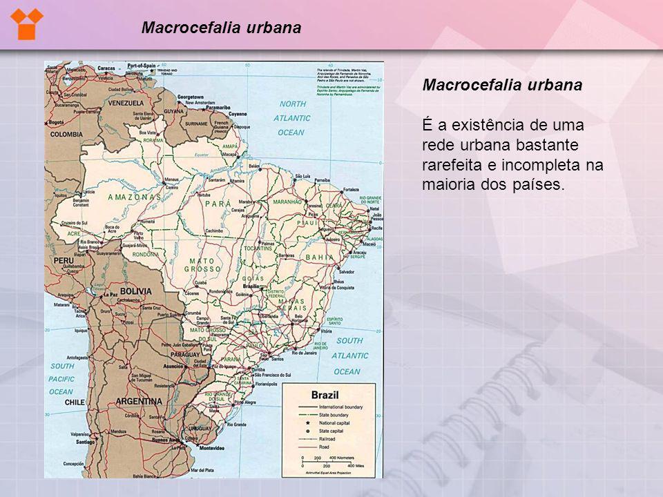 Macrocefalia urbana Macrocefalia urbana.