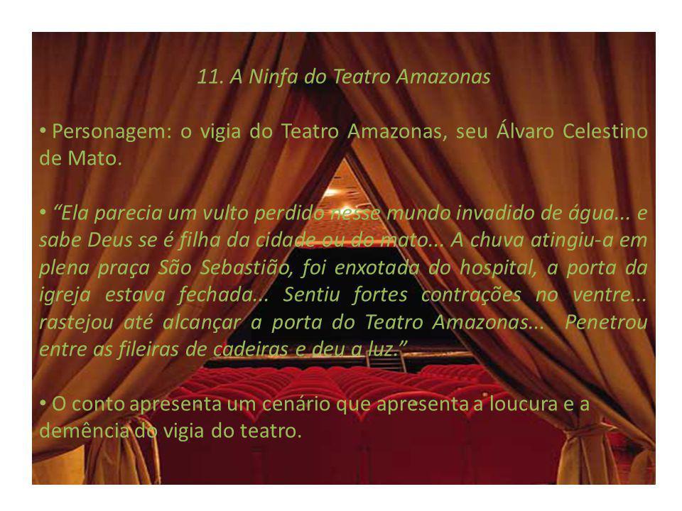 11. A Ninfa do Teatro Amazonas