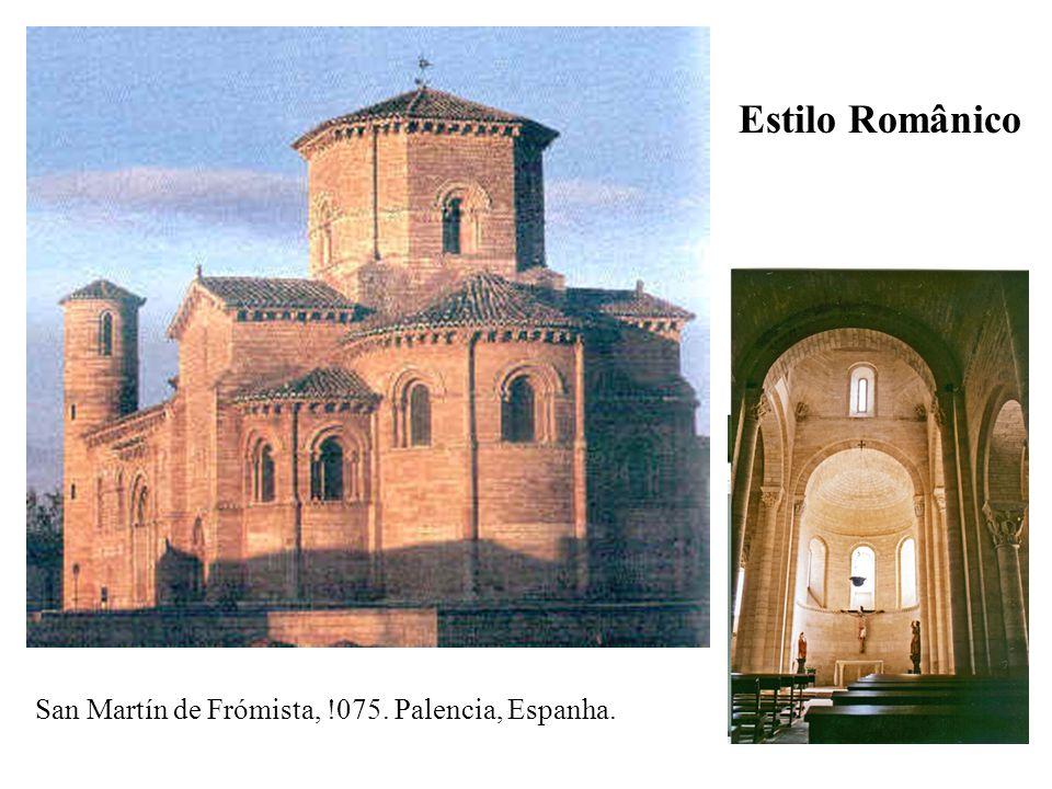 Estilo Românico San Martín de Frómista, !075. Palencia, Espanha.
