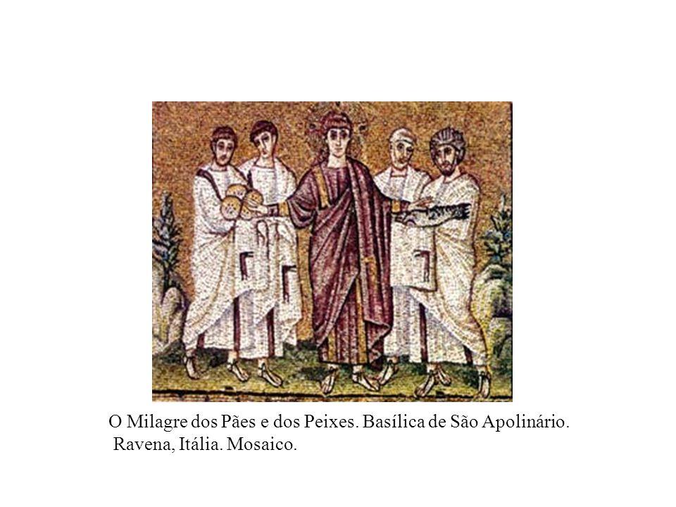 O Milagre dos Pães e dos Peixes. Basílica de São Apolinário.