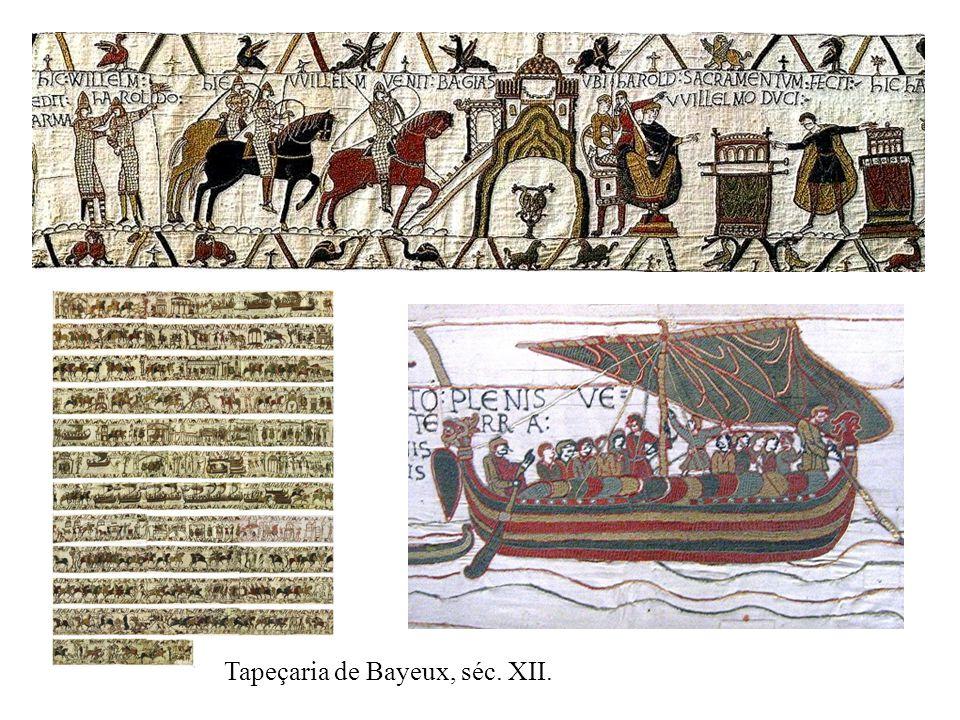 Tapeçaria de Bayeux, séc. XII.