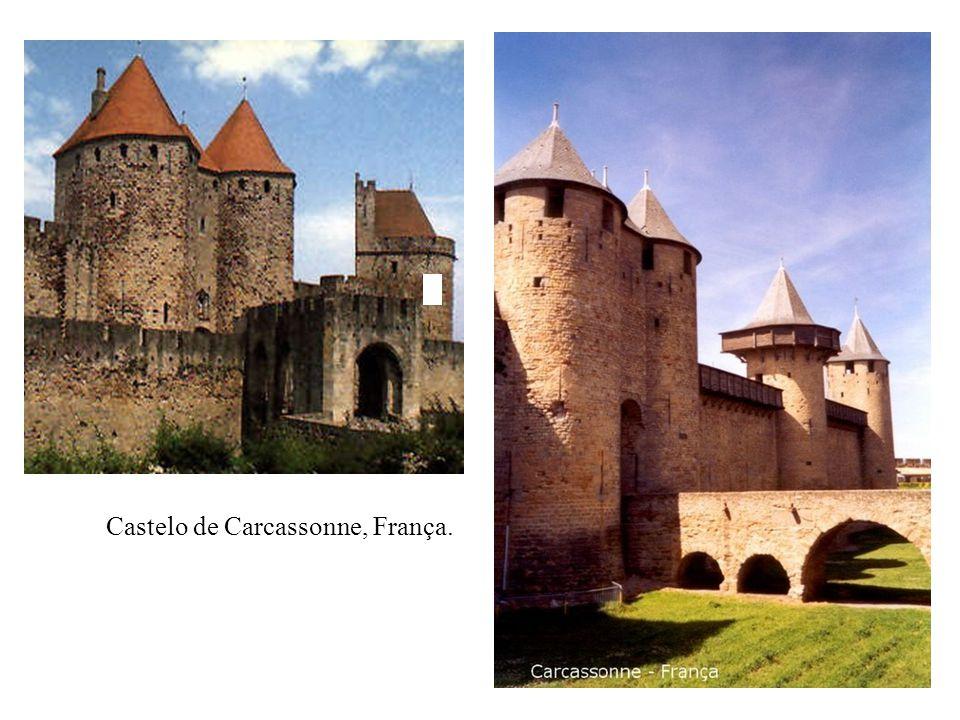 Castelo de Carcassonne, França.