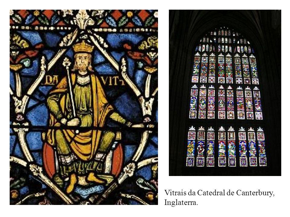 Vitrais da Catedral de Canterbury,