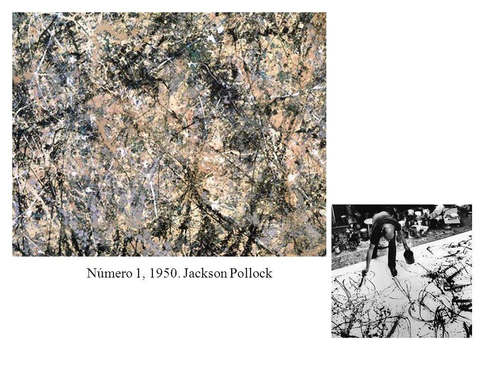 Número 1, 1950. Jackson Pollock