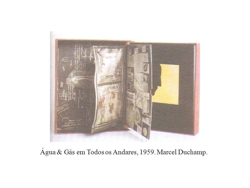 Água & Gás em Todos os Andares, 1959. Marcel Duchamp.