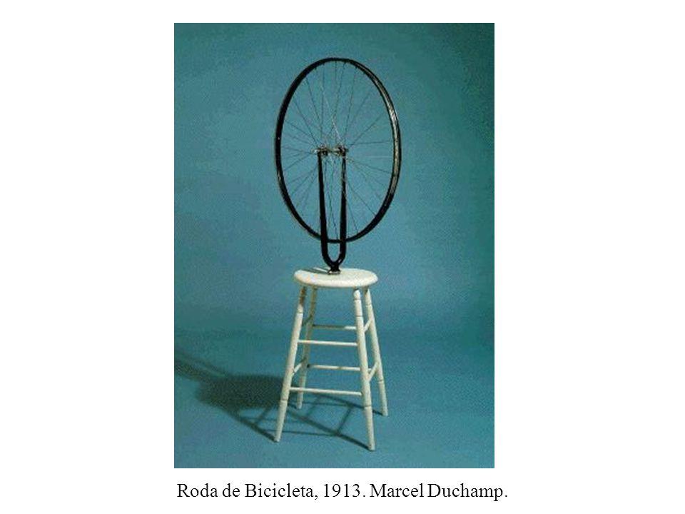 Roda de Bicicleta, 1913. Marcel Duchamp.