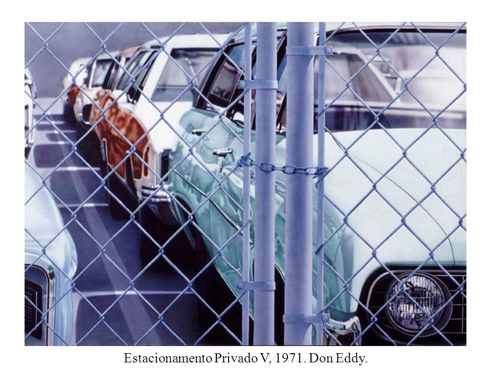 Estacionamento Privado V, 1971. Don Eddy.