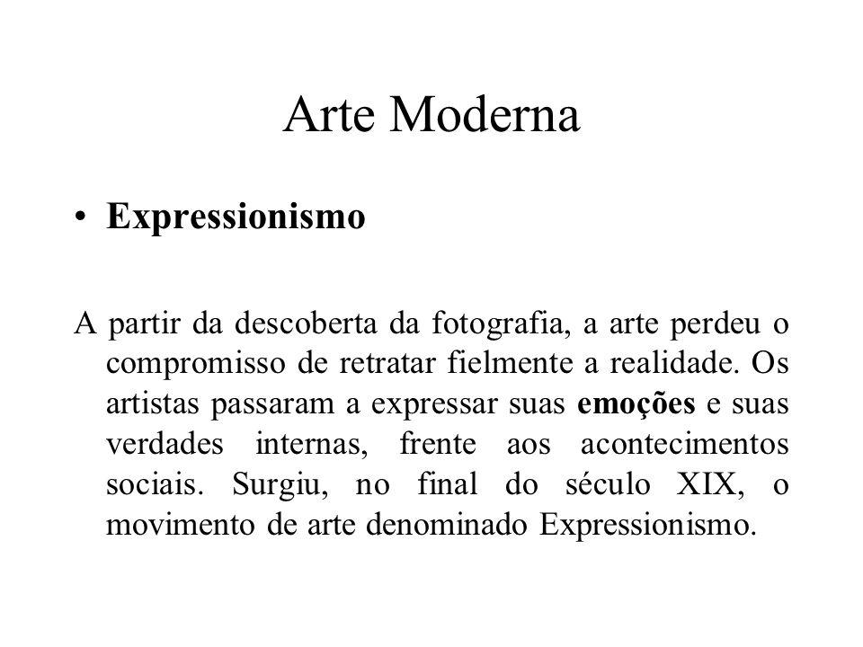 Arte Moderna Expressionismo