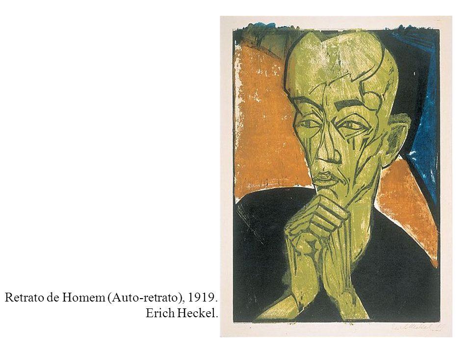Retrato de Homem (Auto-retrato), 1919.