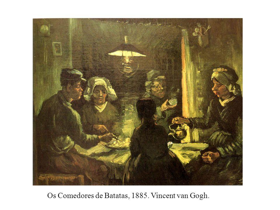 Os Comedores de Batatas, 1885. Vincent van Gogh.