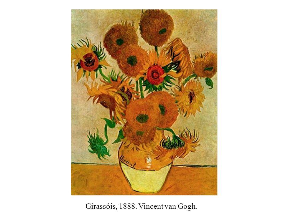 Girassóis, 1888. Vincent van Gogh.