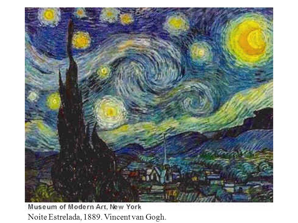 Noite Estrelada, 1889. Vincent van Gogh.