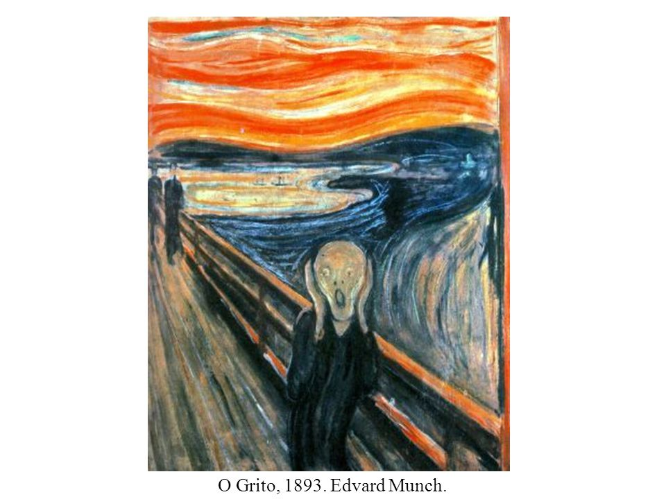 O Grito, 1893. Edvard Munch.