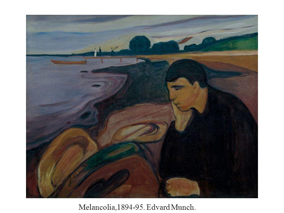 Melancolia,1894-95. Edvard Munch.