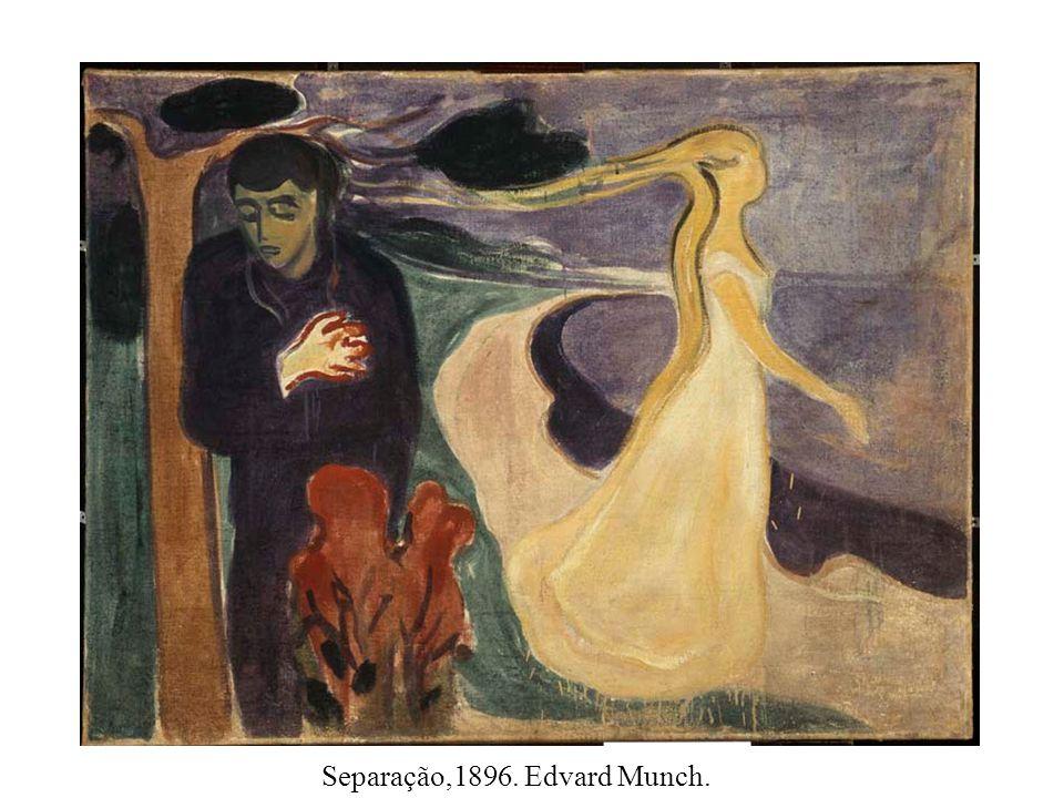 Separação,1896. Edvard Munch.