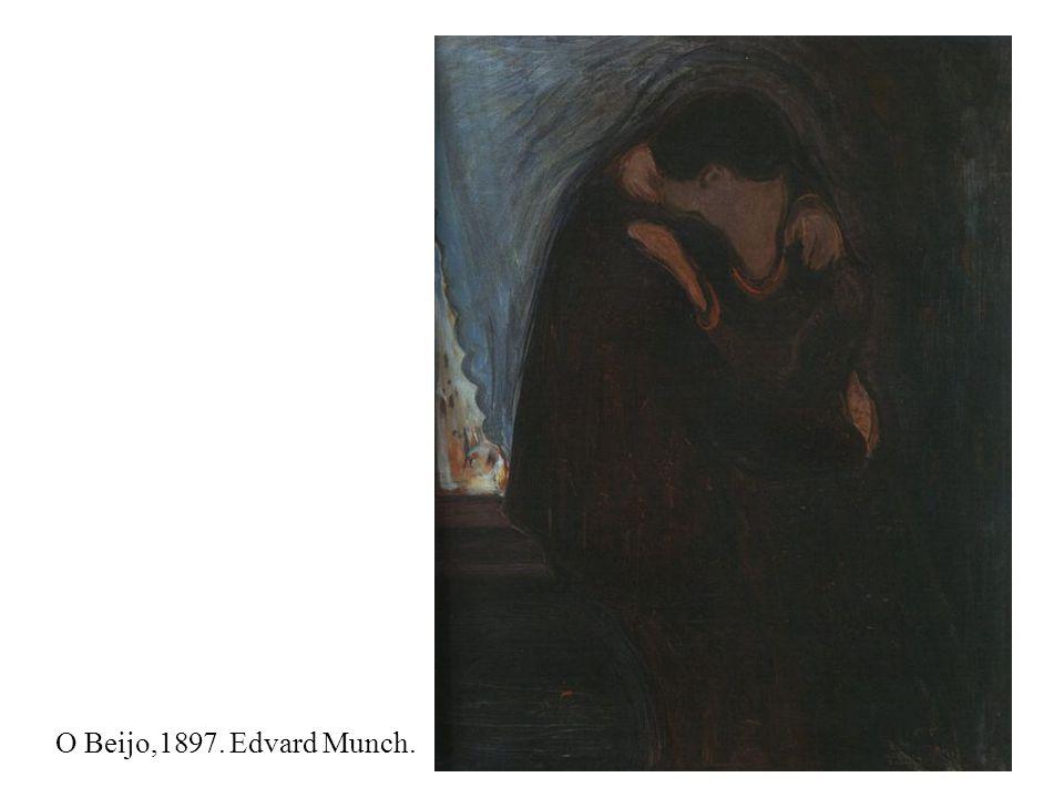 O Beijo,1897. Edvard Munch.