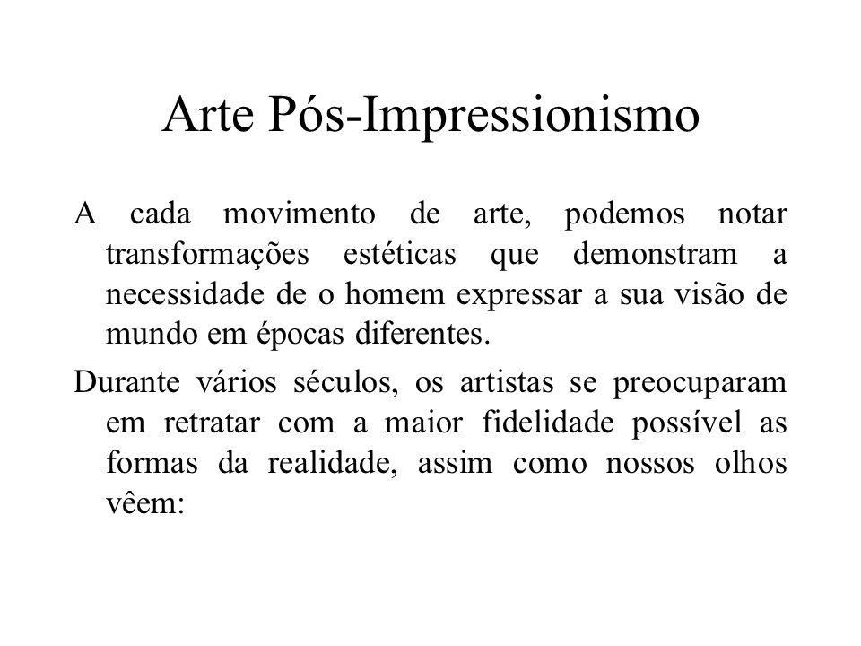 Arte Pós-Impressionismo