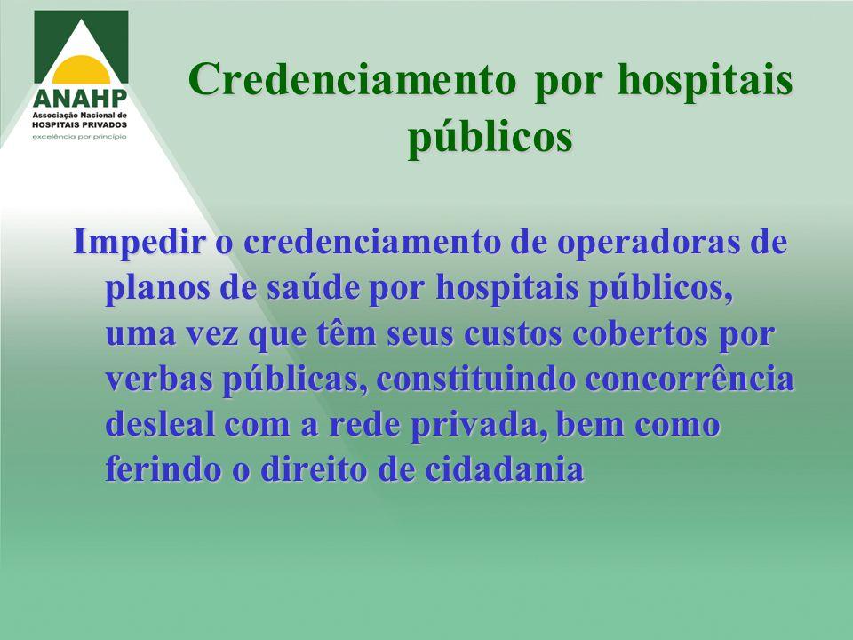Credenciamento por hospitais públicos