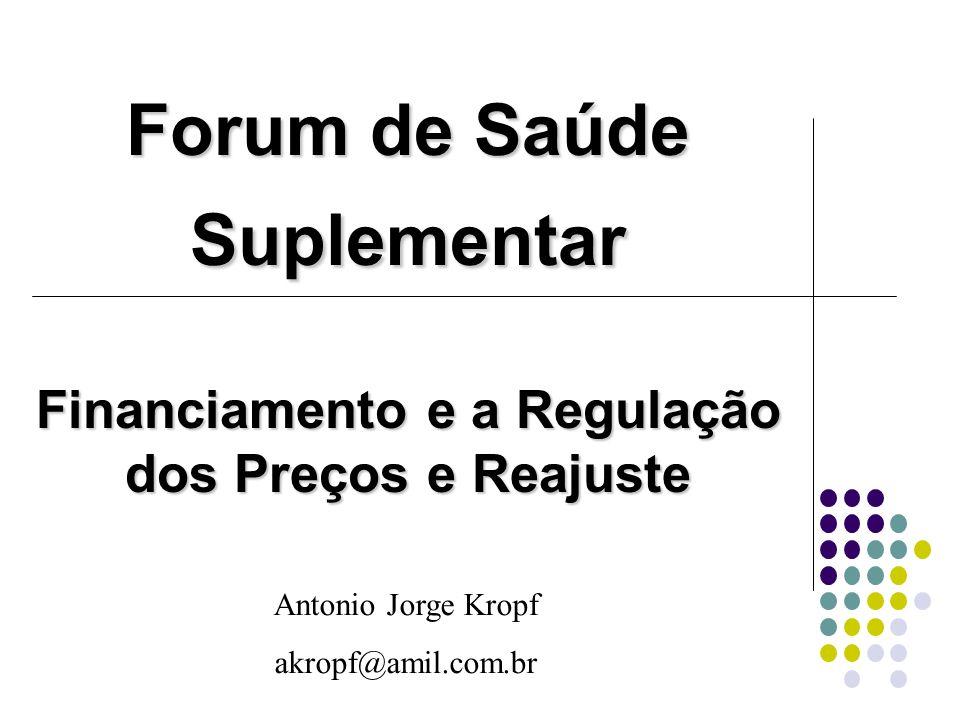 Forum de Saúde Suplementar