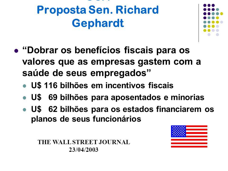 USA Proposta Sen. Richard Gephardt