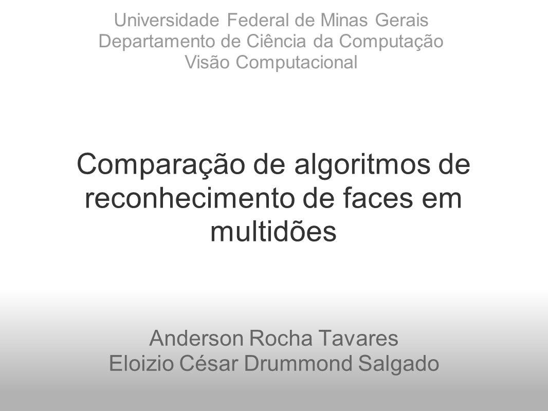 Comparação de algoritmos de reconhecimento de faces em multidões