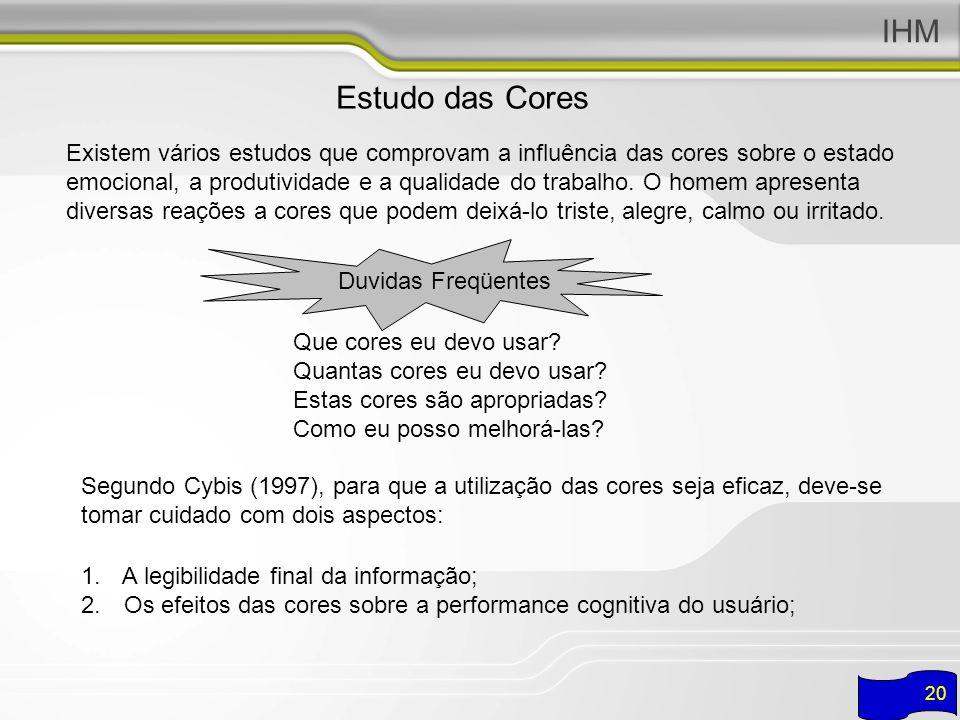 IHM Estudo das Cores.