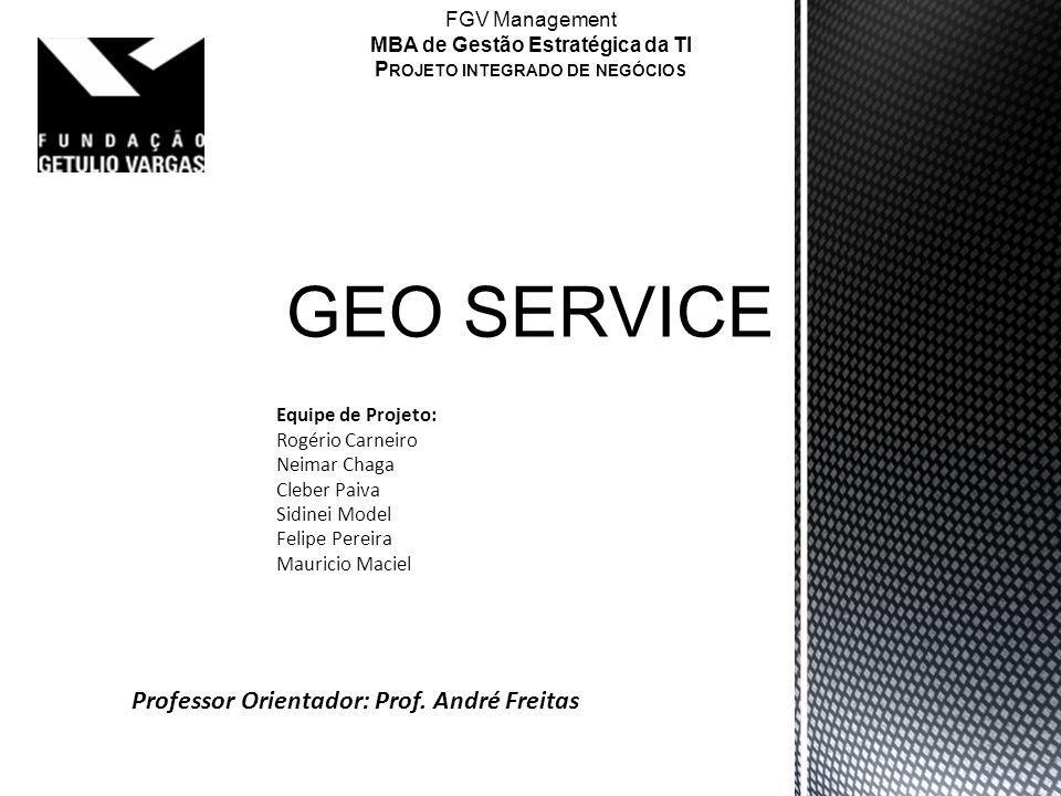 MBA de Gestão Estratégica da TI Projeto integrado de negócios