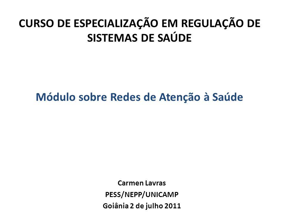 Carmen Lavras PESS/NEPP/UNICAMP Goiânia 2 de julho 2011