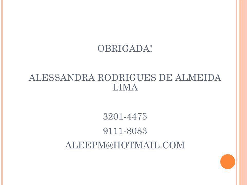 ALESSANDRA RODRIGUES DE ALMEIDA LIMA