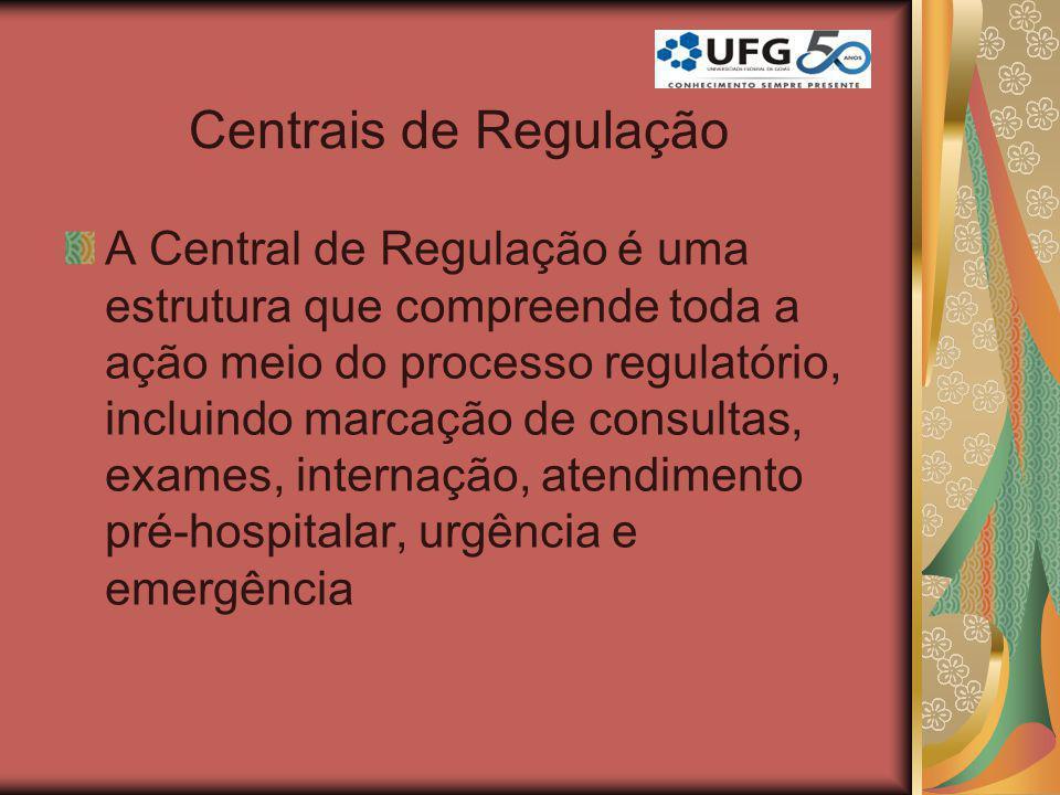 Centrais de Regulação