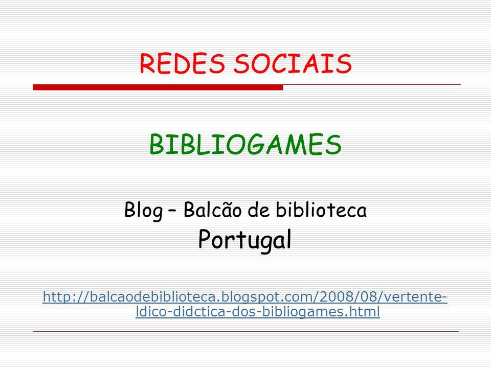 Blog – Balcão de biblioteca