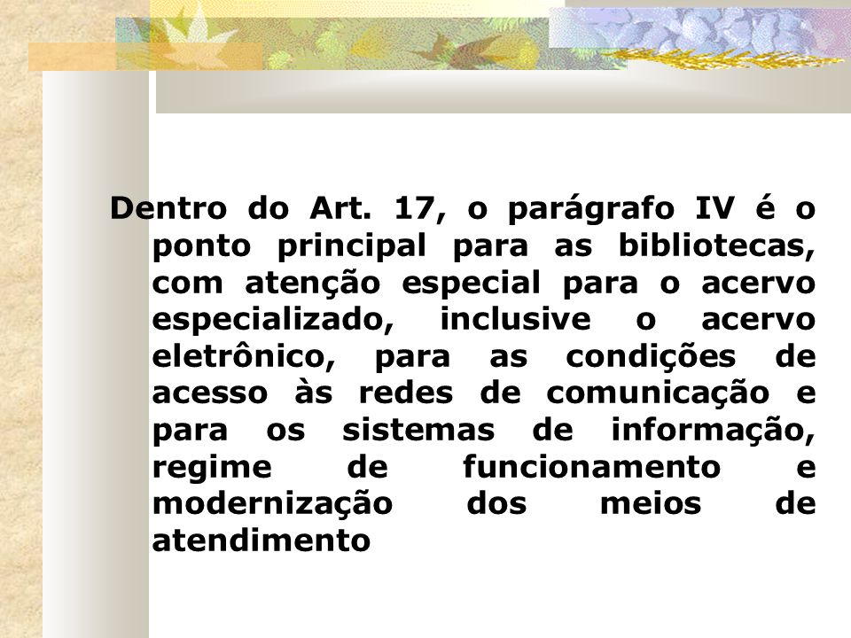 Dentro do Art.